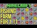 Minecraft 1 11 Afk Fishing Farm Tutorial