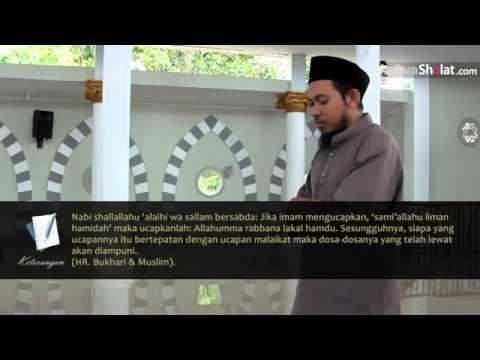 Bacaan I'tidal - Tata Cara shalat Sesuai Sunnah Rasulullah saw hadis sahih