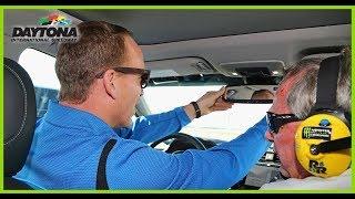 Peyton Manning jokes about 'staying in his lane' during pace car lap