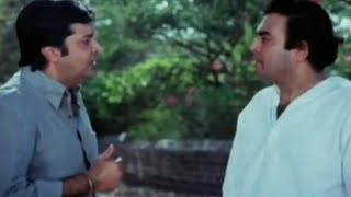 Sanjeev Kumar twin brother confusion comedy scene -- Angoor