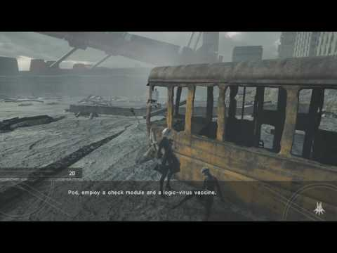 Nier Automata - Searching for 9S