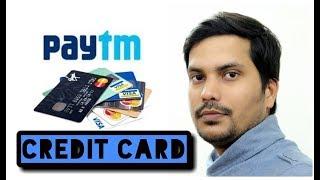 PayTM Credit Card : How To Apply PayTM Credit Card ,PayTM Credit Card limit ,ICICI Bank|Hindi