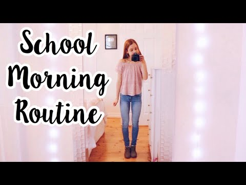 Xxx Mp4 My Morning Routine For High School 3gp Sex