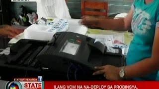 SONA: Ilang VCM, na-deploy sa probinsya, nagka-aberya sa final testing and sealing