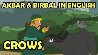 Akbar And Birbal || Crows || English Animated Story - Vol 1