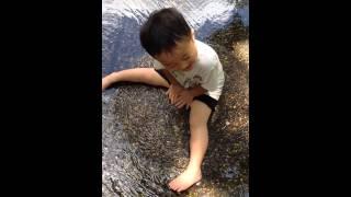 funny kid pee