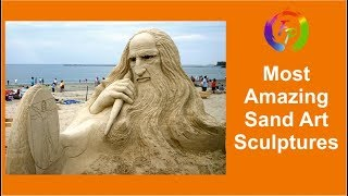 Most Amazing Sand Art Sculptures / Funny pictures