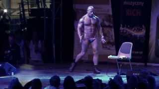 Polish champion in erotic dance , Chippendales Andy , Best male stripper
