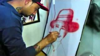 India got talent 2016 audition Blood painting (channi tattooz)