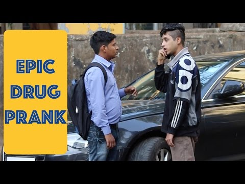 Using Strangers Phone To Make a Drug Deal Prank | Pranks in India