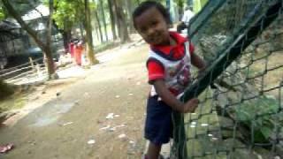 Yuvi dancing & says his name