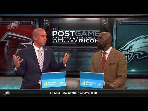 Xxx Mp4 Philadelphia Eagles Vs Atlanta Falcons Postgame Show 1 13 18 3gp Sex