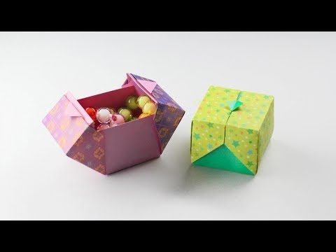 Xxx Mp4 Origami Box 종이상자 종이상자접기 상자접기 상자만들기 종이접기 Origami Designed By SWEET PAPER 3gp Sex