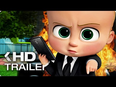 THE BOSS BABY ALL Trailer & Clips 2017