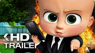 THE BOSS BABY ALL Trailer & Clips (2017)