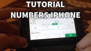 Tutorial Numbers iPhone - #3 (Formule)