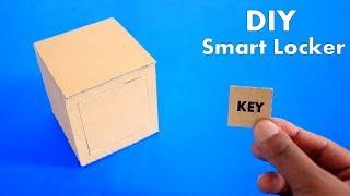 How to Make Cardboard Mini Smart Locker - DIY Cardboard Mini Smart Locker