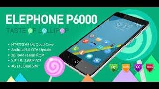 elephone p6000 review/test en français