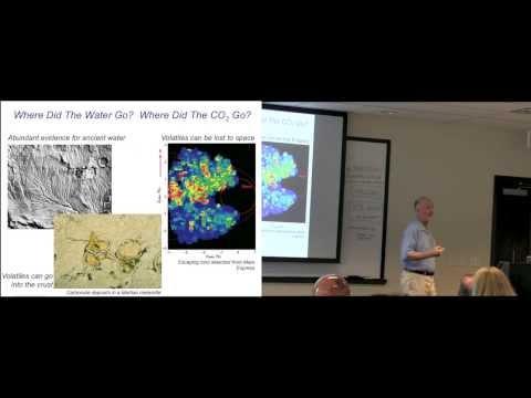 Bruce Jakosky—The 2013 MAVEN Mission to Mars