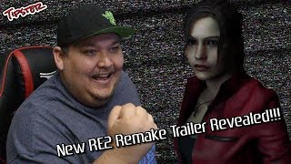 Reacting to the TGS 2018 Resident Evill 2 Remake Story Trailer!!!