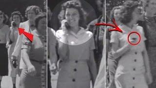 Viajera del tiempo captada en video de 1938 (Evidencia)