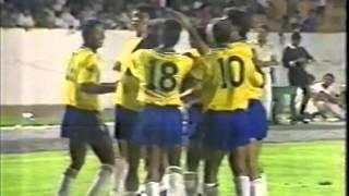 AMISTOSO 1992   BRASIL 3X1 FINLANDIA - GLOBO - OLIVEIRA ANDRADE