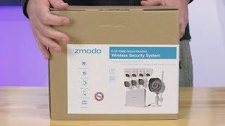 Zmodo HD NVR WiFi System with 8 Cameras - Install