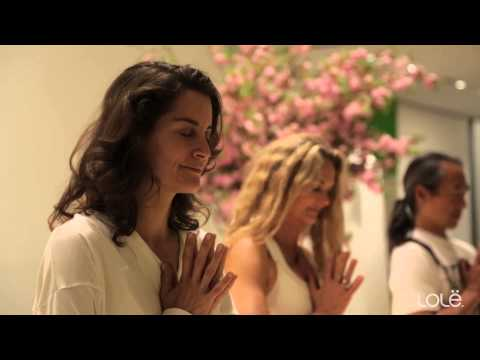 The Lolë White Tour 2014 brings yoga to New York City's MoMA
