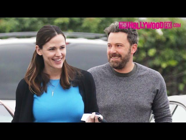 Ben Affleck & Jennifer Garner Attend Sunday Morning Church Together With The Kids 12.11.16