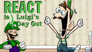 LUIGIKID REACTS TO: LUIGI'S DAY OUT - DOUCHEBAG MARIO