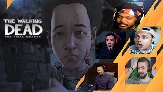 Gamers Reactions to Trusting AJ To Make The Hard Calls | The Walking Dead: [S4][E4] Take Us Back