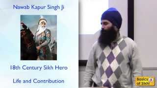 Nawab Kapur Singh - Great Sikh Leader of 17th Century - English Short Talk
