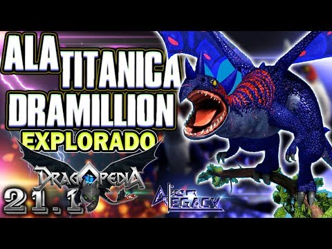 ¿Que es el DRAMILLON ALA TITANICA?    Como entrenar a tu Dragon - HTTYD [Alien Legacy]