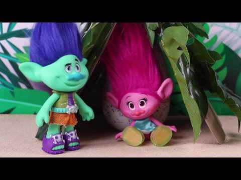TROLLS: La luna de miel de RAMON y POPPY de la película de Trolls! - Juguetes Fantásticos
