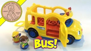Fisher-Price Little People Lil' Movers Yellow School Bus Toy Kids Toy Reviews