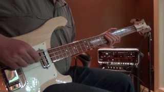 Tin Man Bass Cover