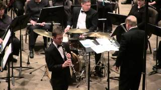 Austin Symphonic Band With Alex Ford Performing Concerto for Clarinet by Artie Shaw