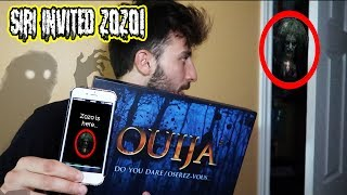 (ZOZO IS HERE?!) DONT TALK TO SIRI AT 3 AM WITH A OUIJA BOARD | SIRI INVITED ZOZO TO PLAY?!