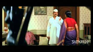 Sonali Kulkarni & Sayaji Shinde - Emotional Scene - Tya Ratri Paus Hota - 2010 Movie