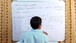 Correlation Analysis - concept & Coefficient of Correlation in hindi