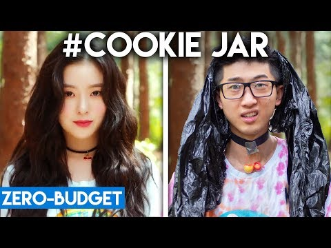 K-POP WITH ZERO BUDGET! (Red Velvet- #Cookie Jar)