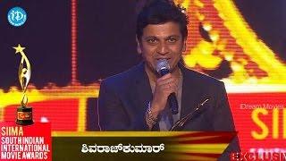 Best Actor Kannada Shiva Raj kumar@ SIIMA 2014