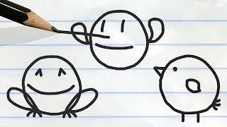 """Bettermorphosis"" Pencilmation Cartoons"