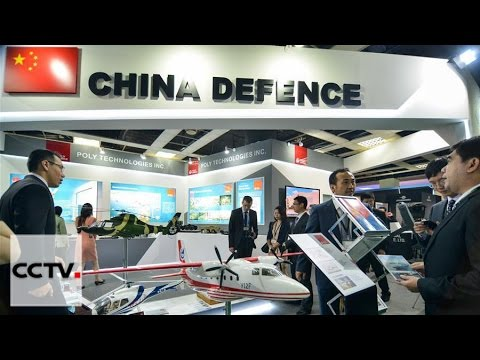 watch Chinese military equipment displayed at 2016 DSA exhibition