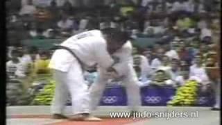 Judo Olympics Seoul 1988: Saito (JPN) - Cho (KOR)