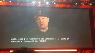 Kevin Feige no Painel da Marvel na CCXP 2017 - OFELM