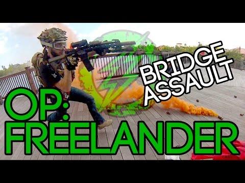 Op: Freelander - Cartel Bridge Assault - Amped Airsoft