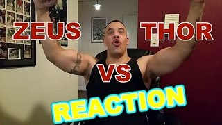 Zeus vs Thor ERB Reaction