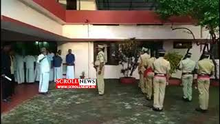Kummanam Guard Of Honour at Chengannur