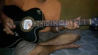 || Ekhon onek raat lead || Acoustic Guitar || By Topon da ||  Bangladeshi Rock Band LRB ||